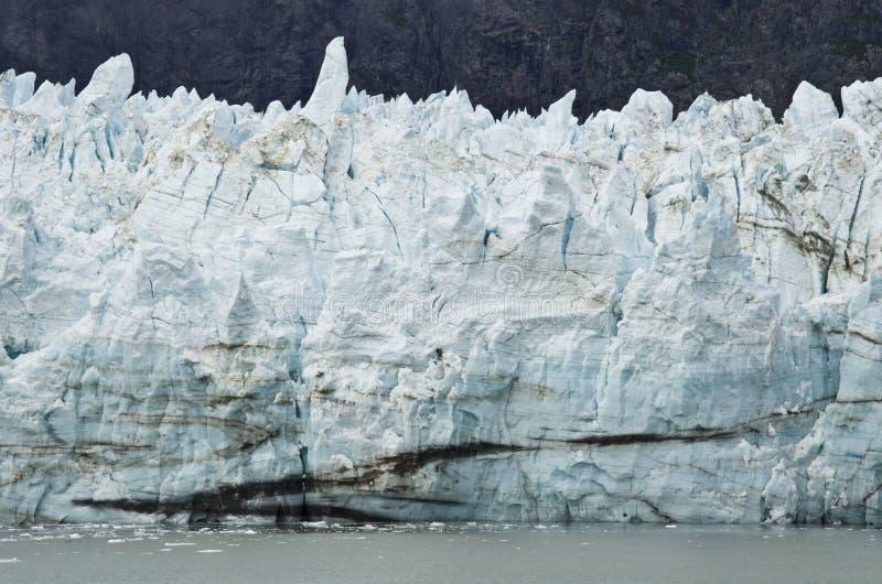 Alaska - Johns Hopkins Glacier. USA Alaska, Glacier Bay National Park and Preserve, UNESCO - World Heritage site, UNESCO - World Biosphere Reserve, Johns Hopkins stock image