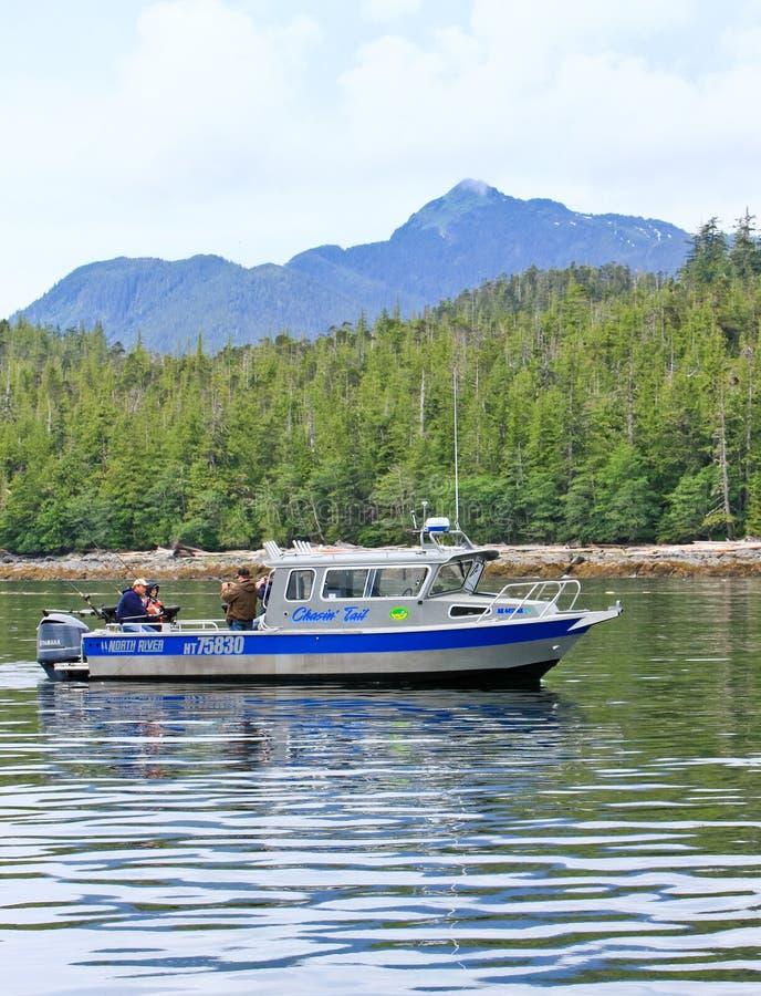 Alaska ketchikan salmon charter fishing boat editorial for Ketchikan salmon fishing