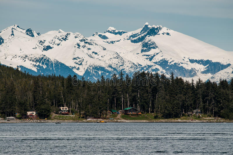 Alaska krajobraz obrazy royalty free