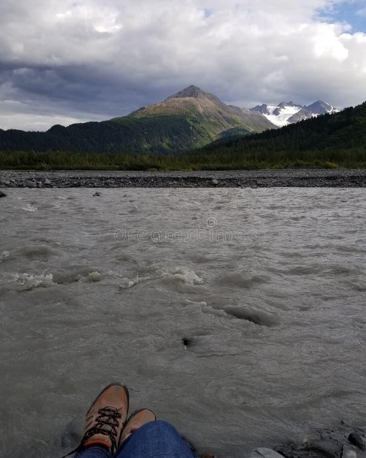 Alaska la frontera pasada foto de archivo libre de regalías