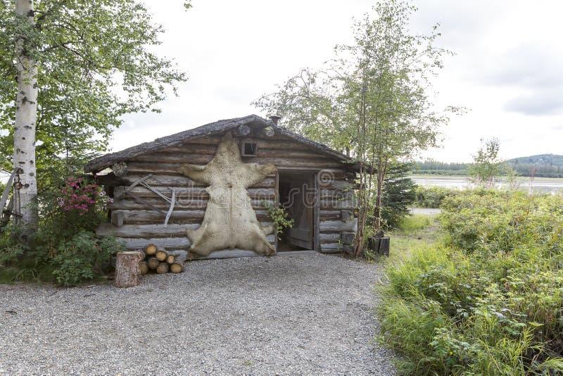 Alaska, la frontera pasada foto de archivo libre de regalías