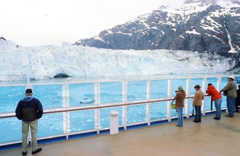 Alaska olje- rörledning royaltyfri foto