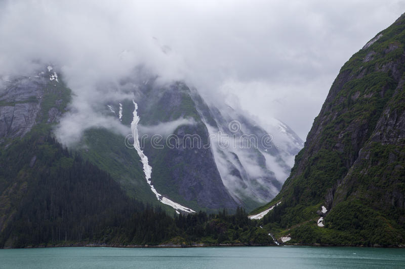 Alaska. One of the Alaskan Glaciers stock images