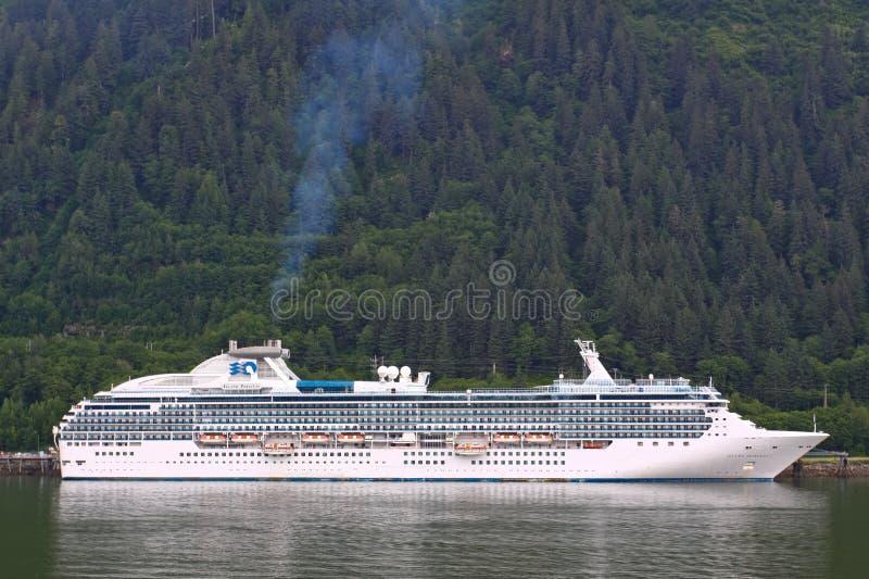 Alaska - Prinzessin Kreuzschiff Juneau stockbild