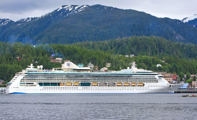 Alaska Radiance of the Seas Cruise Ship Ketchikan stock images