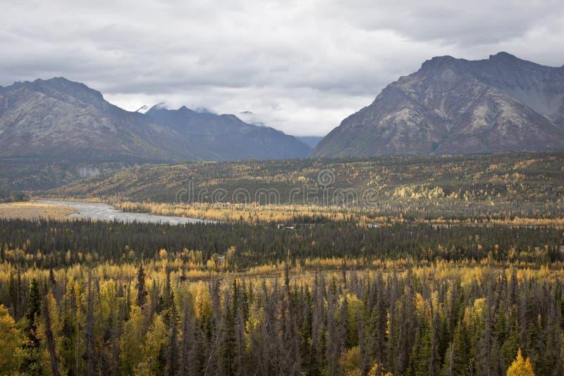 Alaska Range in Denali stock photos