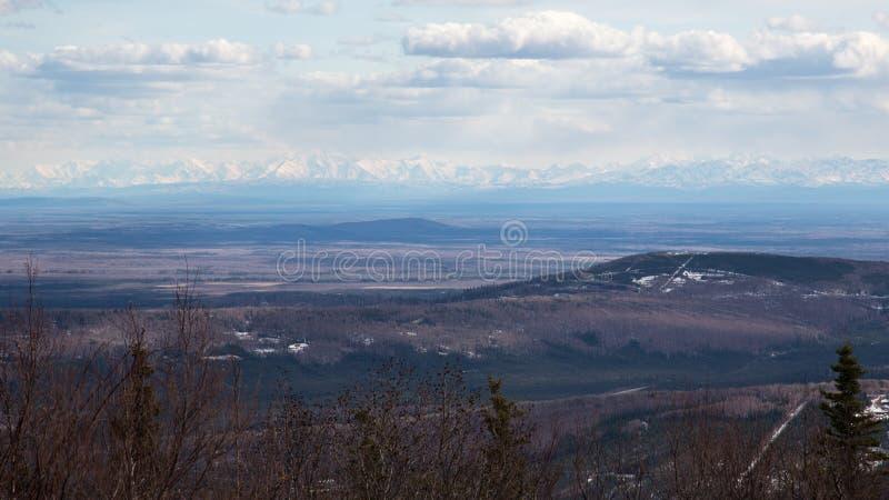 The Alaska Range royalty free stock photos