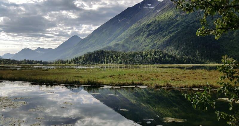Alaska reflectora foto de archivo libre de regalías