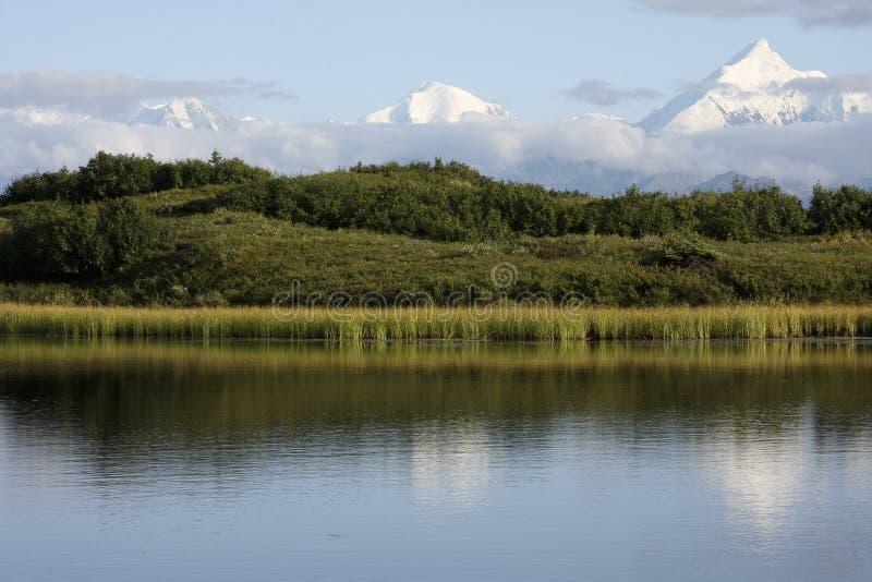 Alaska-Reichweite lizenzfreies stockfoto