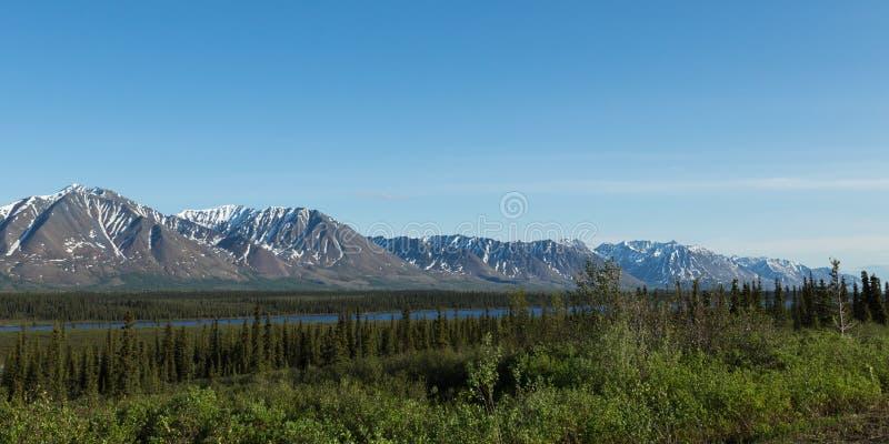 Alaska's Mountains stock photo
