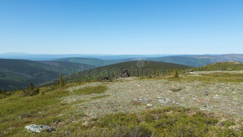 Alaska's Murphy Dome royalty free stock images
