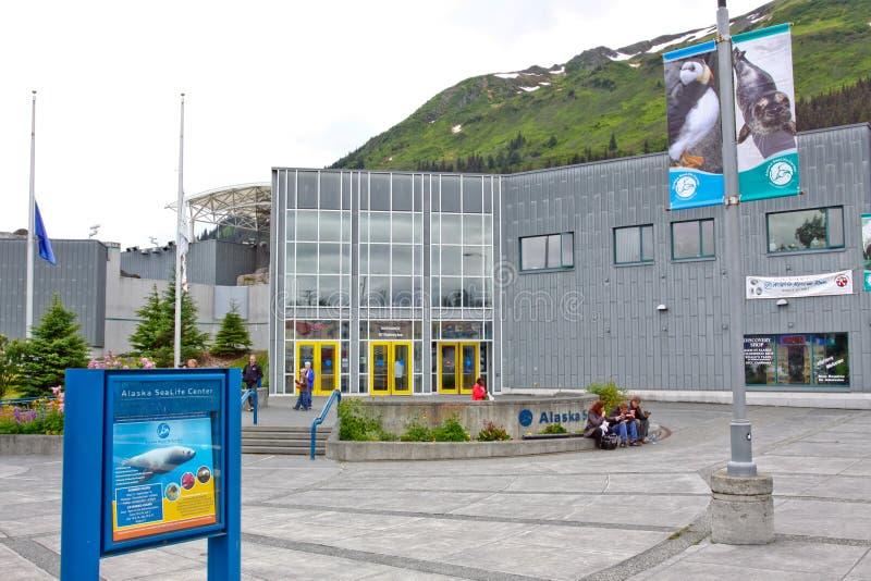 Alaska - Seward Alaska Sea Life Center 2 stock photo