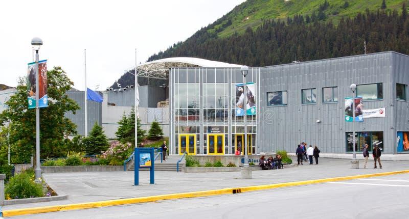 Alaska - Seward Alaska Sea Life Center stock image