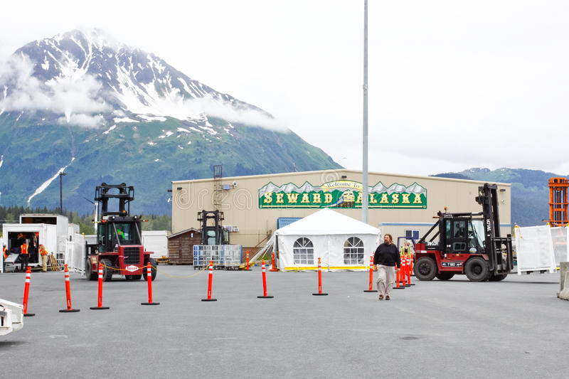 Download Alaska Seward Cruise Ship Terminal 2 Editorial Image - Image: 28627785