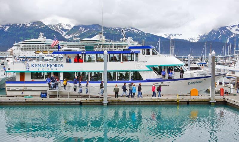 Alaska Seward Kenai Fjords Tours Boat