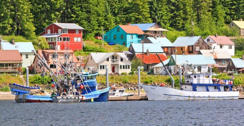 Download Alaska Town Of Hoonah Waterfront Fishing Boats Editorial Photo - Image: 29020186