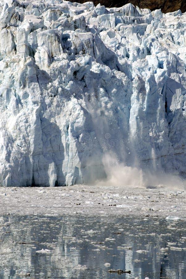 ALASKA/USA _GLACIER BAY_MOUNTIANS royaltyfri bild