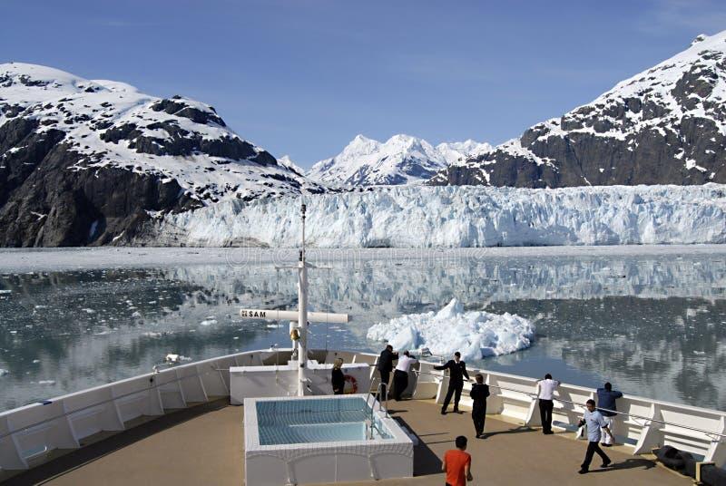 ALASKA/USA _GLACIER BAY_MOUNTIANS arkivfoton