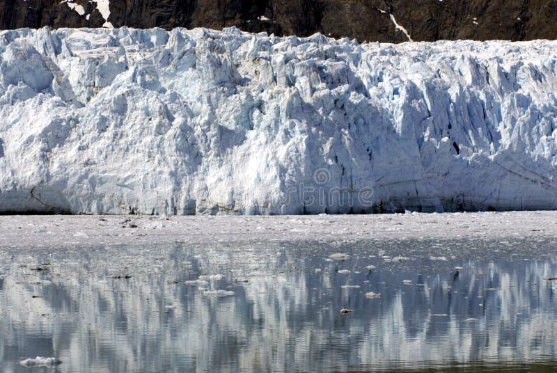 ALASKA/USA _GLACIER BAY_MOUNTIANS royaltyfri fotografi