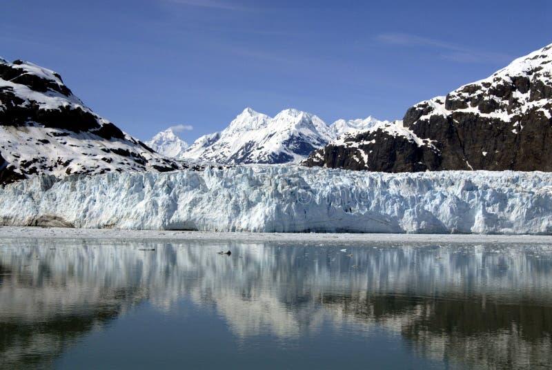 ALASKA/USA _GLACIER BAY_MOUNTIANS royaltyfri foto