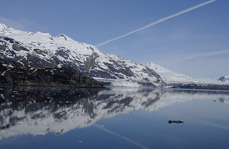 ALASKA/USA _GLACIER BAY_MOUNTIANS I USA fotografering för bildbyråer