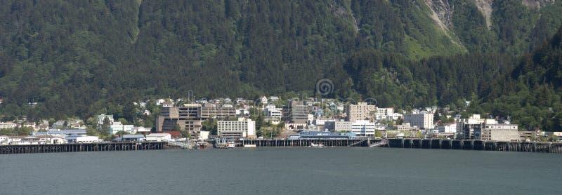 alaska widok kapitałowy panoramiczny Juneau zdjęcie royalty free