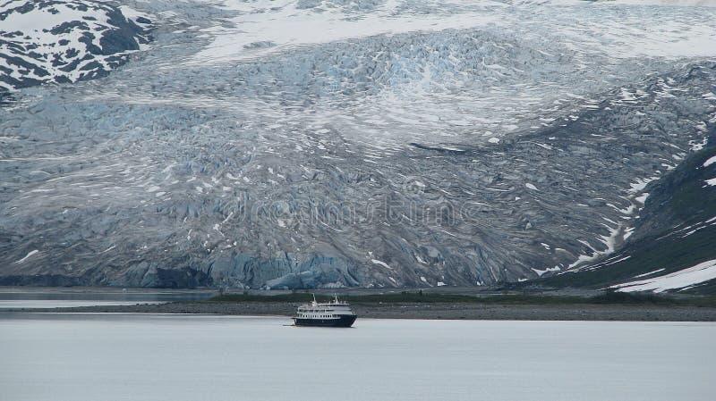 alaska zatoki lodowiec fotografia royalty free