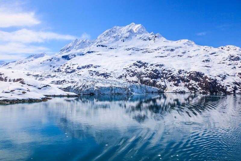 alaska zatoki lodowiec obraz stock