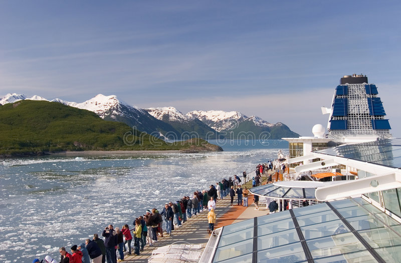 Alaskan cruise royalty free stock photo