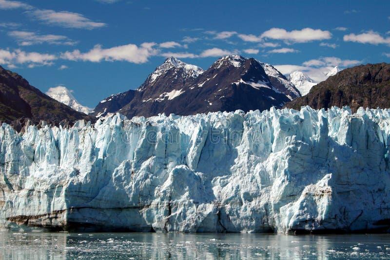 Alaskan Glacier at Prince William Sound. Photo of glacier at Prince William Sound royalty free stock photo