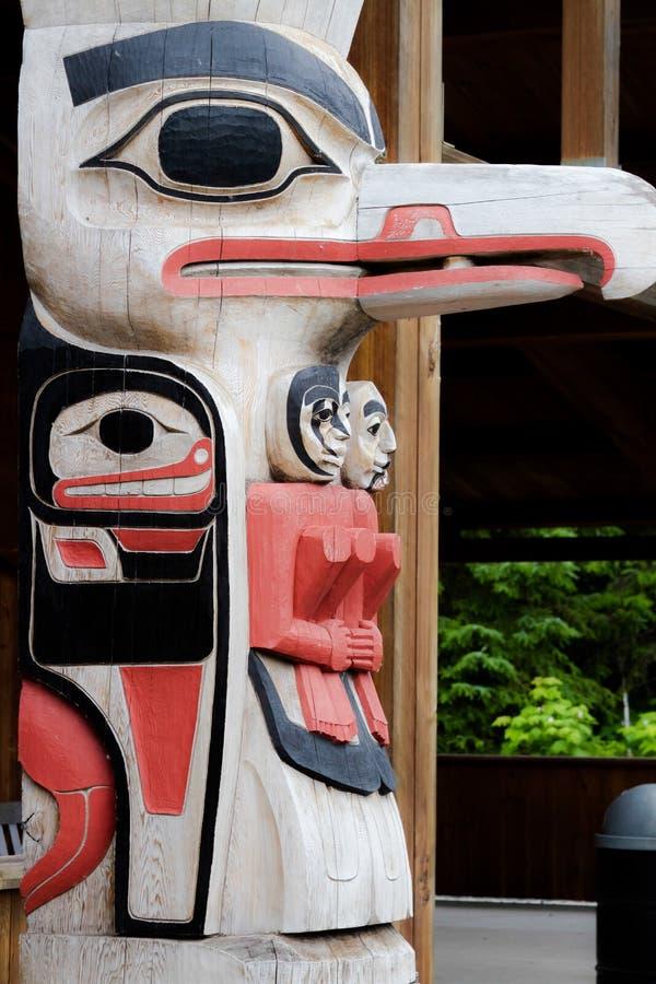 Alaskan inuit art royalty free stock photo