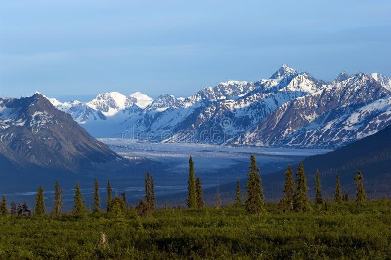 Alaskan landscape stock image
