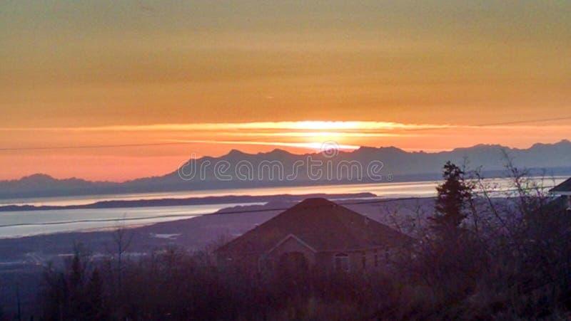 Alaskan Landscape royalty free stock photography