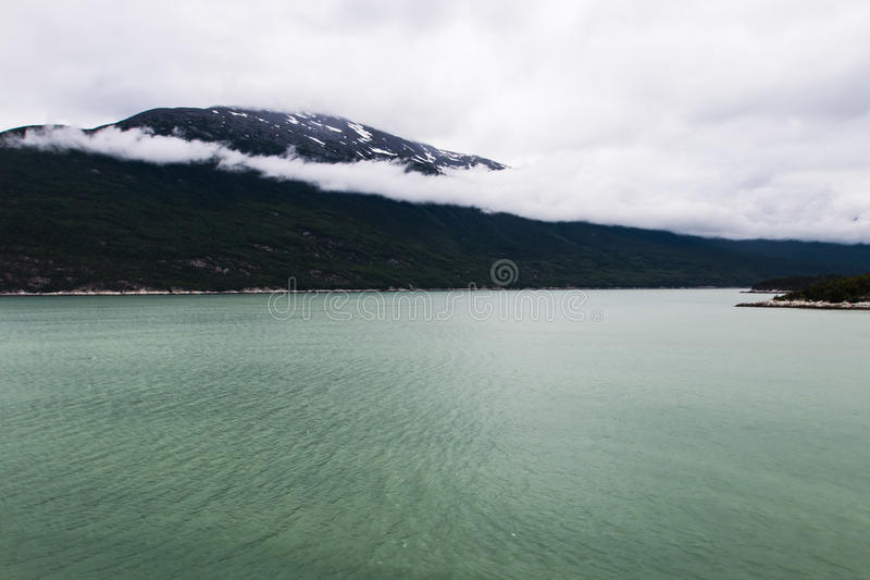 Alaskan Landscape of Mountains and Water 1 royalty free stock photography