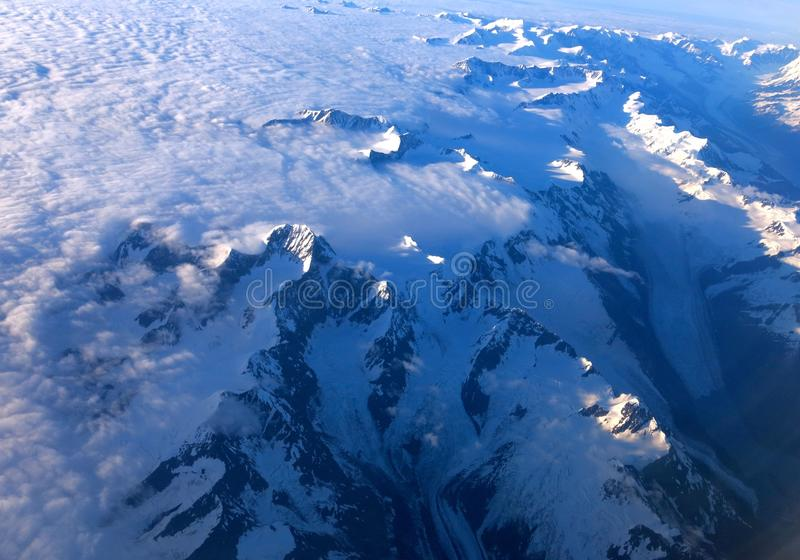 Alaskan Mountains stock photos