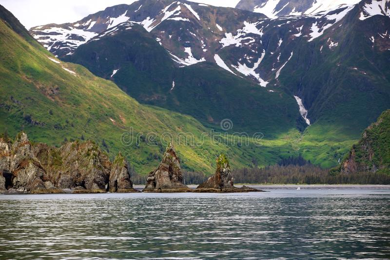 Alaskan national forest stock photography