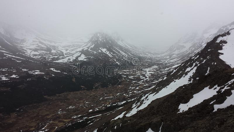 Alaskas Berge lizenzfreie stockfotografie