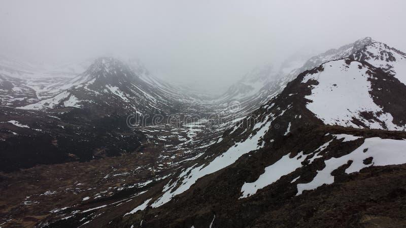 Alaskas Berge stockfoto