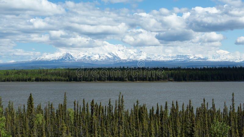 Alaskas Willow Lake lizenzfreie stockbilder