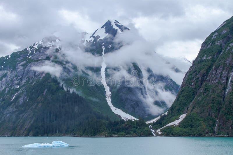 Alaskische Fjorde lizenzfreie stockfotografie