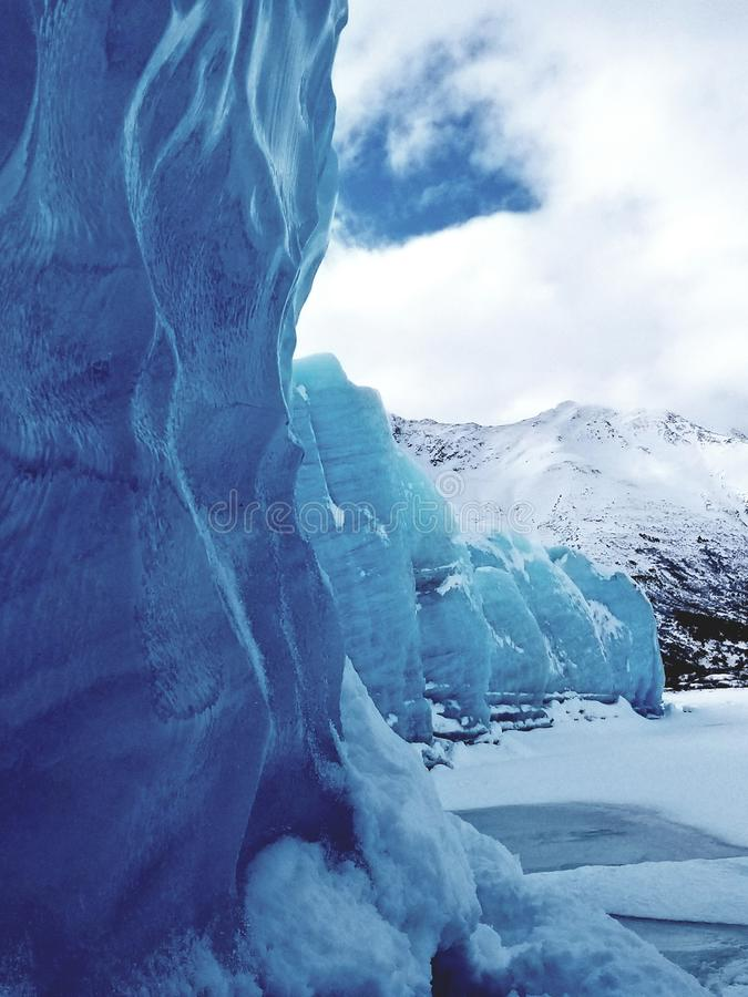 Alaskische Gletscher stockbilder