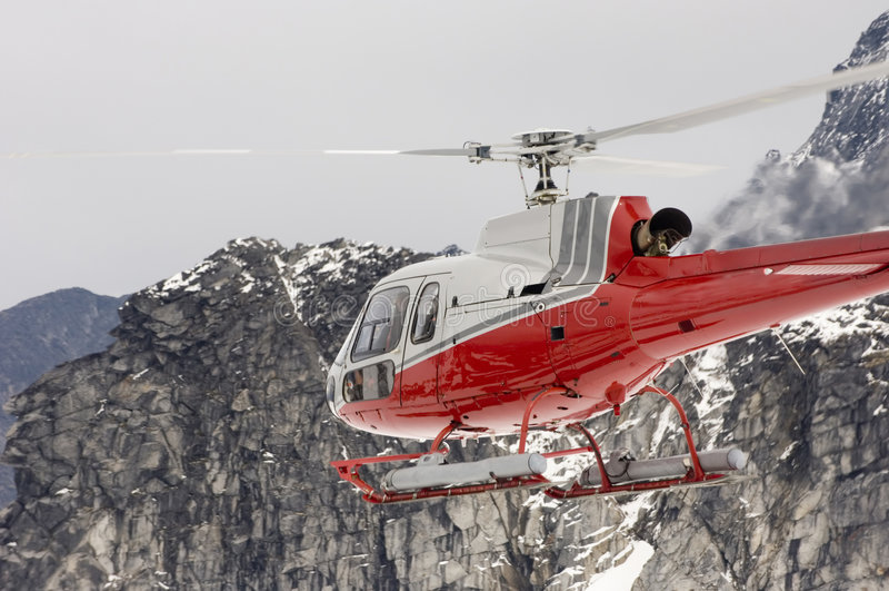 Alaskische Hubschrauber-Serie lizenzfreies stockbild