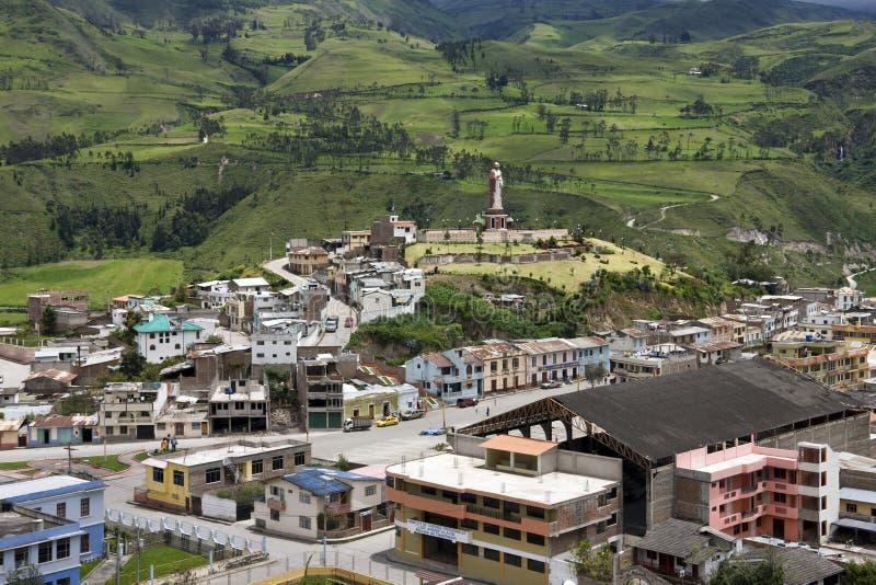 Alausi - provincia di Chimborazo - l'Ecuador fotografia stock libera da diritti