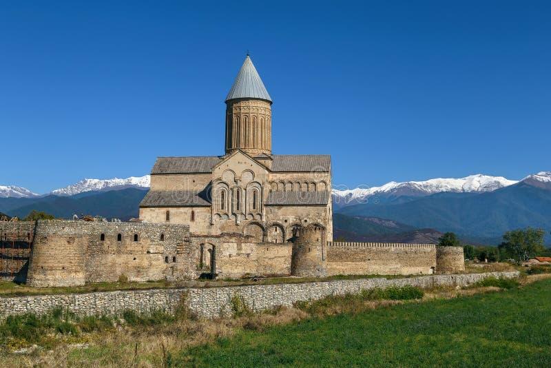 Alaverdi Monastery, Georgia. Alaverdi Monastery is a Georgian Eastern Orthodox monastery located in the Kakheti region of Eastern Georgia stock photography