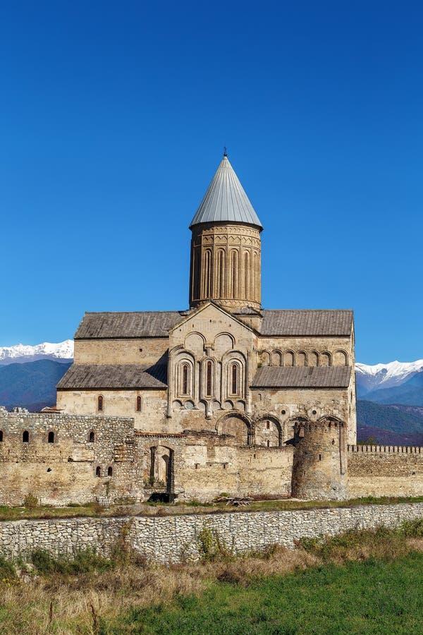Alaverdi Monastery, Georgia. Alaverdi Monastery is a Georgian Eastern Orthodox monastery located in the Kakheti region of Eastern Georgia stock photo