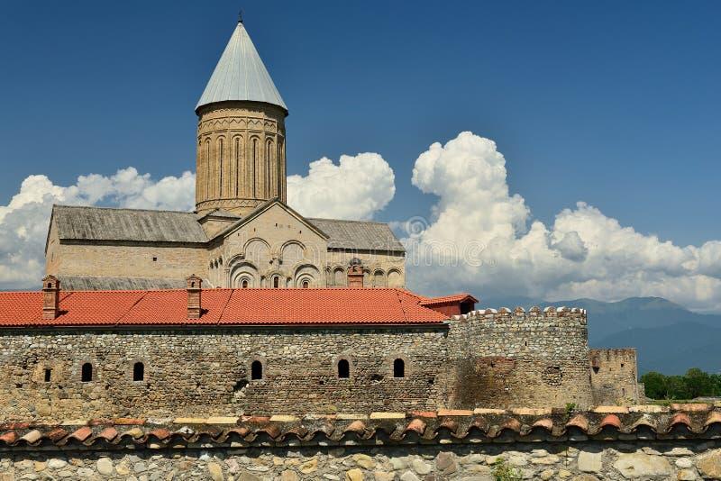 Alaverdi Monastery Georgia, Kakheti region royalty free stock images