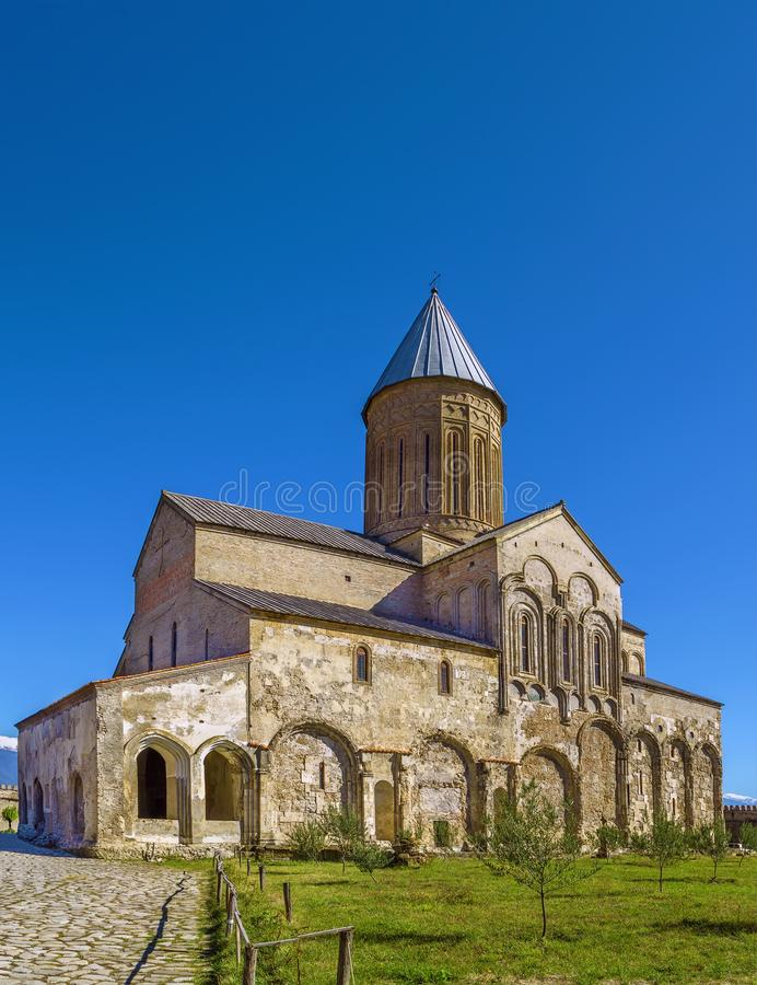 Alaverdi Monastery, Georgia. Alaverdi Monastery is a Georgian Eastern Orthodox monastery located in the Kakheti region of Eastern Georgia royalty free stock photography