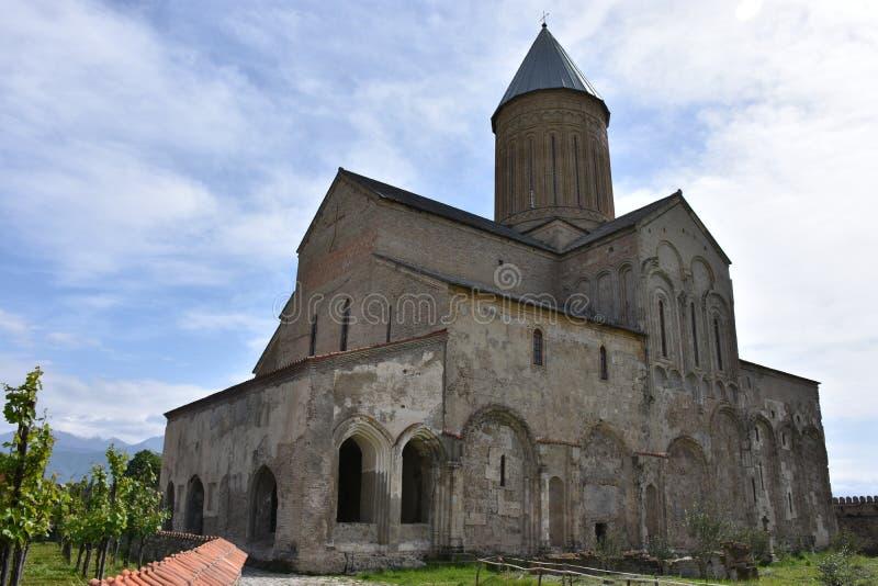 Alaverdi Monastery, Kakheti, Georgia stock photo