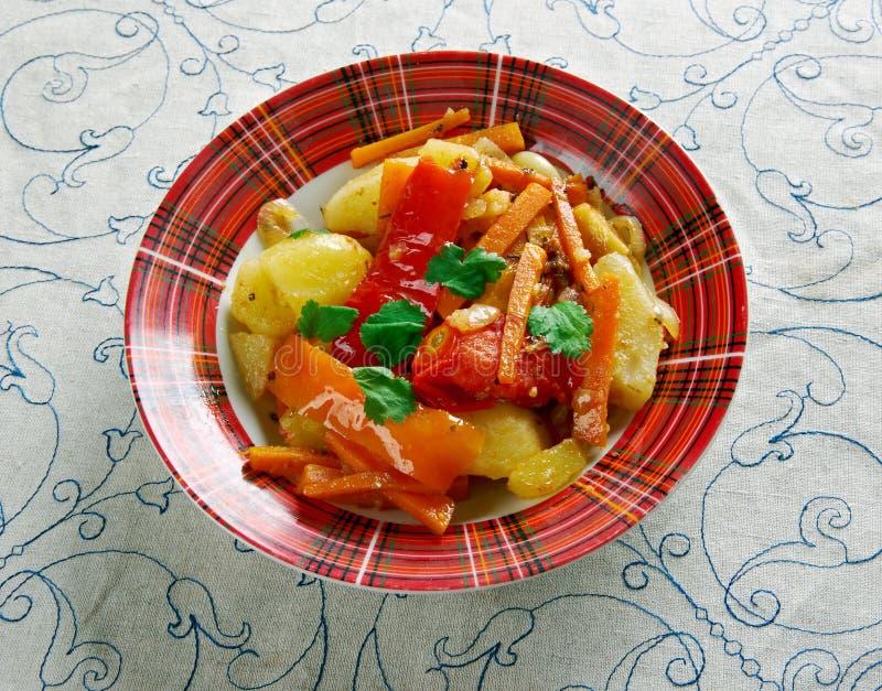 Albańscy warzywa obrazy stock