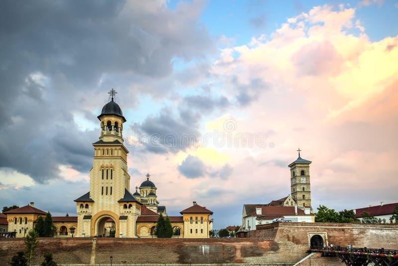 Alba крепость Каролины, Румыния стоковое изображение